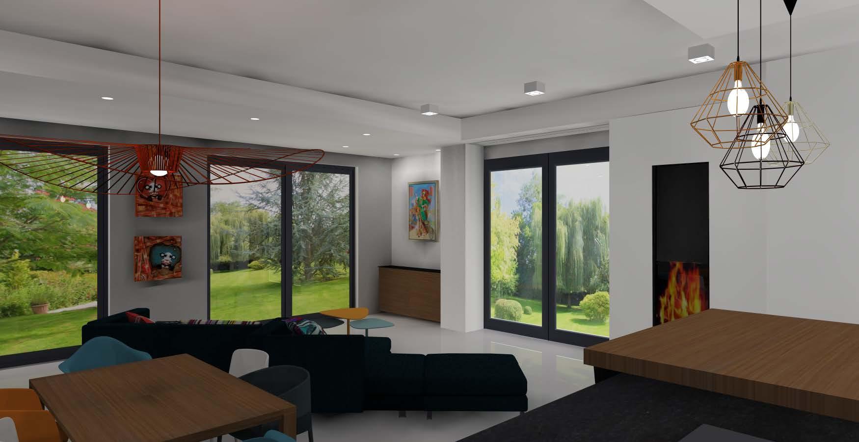 exemple de projet linecol interior. Black Bedroom Furniture Sets. Home Design Ideas