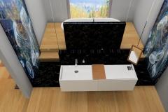 Création du mobilier pour salle de bain