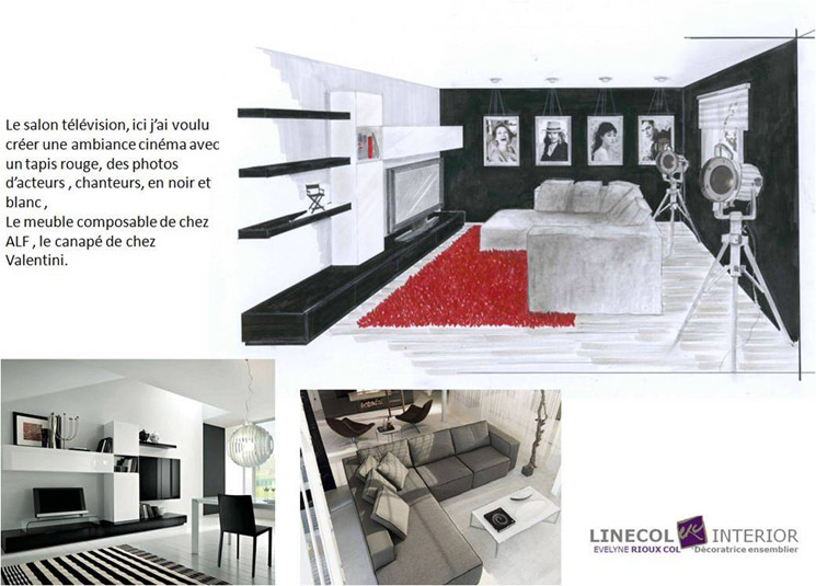 d corateur d int rieur sur lyon linecol interior. Black Bedroom Furniture Sets. Home Design Ideas