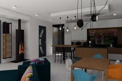 Projet d'aménagement et de décoration intérieur à Saint Didier au Mont D'or