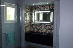 Salle de bain esprit alcôve à Marennes