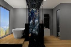 salle de bain à Saint Didier au Mont DOr